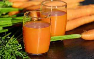 Sucul de morcovi - 8 beneficii pentru organism