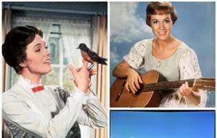 """Ați urmărit-o în """"Mary Poppins"""" și în """"Sunetul muzicii"""", fiind cea mai cunoscută dădacă din întreaga lume! Incredibil cum arată Julie Andrews la 82 de ani"""