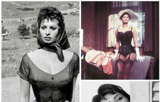 Sophia Loren împlinește astăzi 84 de ani. Are aceeași grație, eleganță și frumusețe ca la 30 de ani