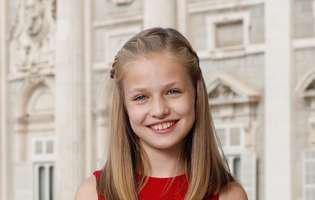 Prințesa Leonor a Spaniei a împlinit 12 ani.