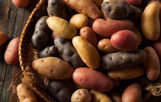 cum folosești cartofii albi sau roșii