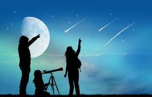 ploaia de stele din constelația Gemenilor