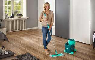 (P) Anul acesta, curățenia de Sărbători se face cu setul de curățenie Leifheit Clean Twist System M