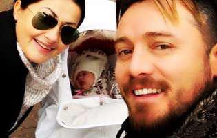 Tavi Clonda a făcut dezvăluiri despre botezul fetiţei lor. Când va fi creştinată Victoria