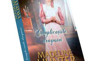 """""""Complicațiile dragostei"""" de Madeline Hunter, femeia fatală și vânătorul de spioni"""