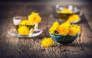 Ceaiul de păpădie te ajută să slăbești