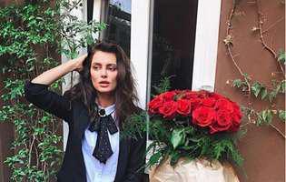 Catrinel Marlon, apariție răvășitoare la Paris! A pozat cu sânii la vedere, într-o rochie spectaculoasă