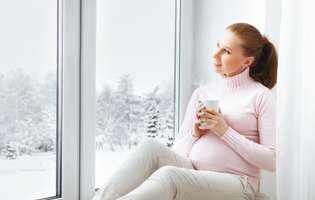 Provocări pentru femeile însărcinate iarna Statul în casă prea mult timp