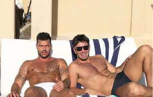 Ricky Martin partener