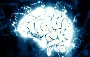 Migrena cu aură - afecțiune care se manifestă printr-o durere intensă pulsatilă, de obicei doar la nivelul unei emisfere cerebrale, nu bilateral, care implică o perioadă numită aură în care apar tulburări de vedere, de auz, spasme, slăbiciune musculară, amorțeală înainte sau în timpul migrenei. Imagine cu creierul uman