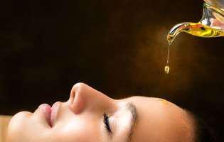 remedii naturale pentru tratarea migrenelor - masaj cu ulei de mentă