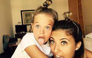 Antonia a făcut publice noi imagini cu fiica ei, Maya, dar a fost aspru criticată de fani! Detaliul din poze care le-a deranjat pe mămici