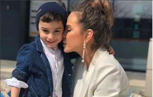 Fiul Annei Lesko a implinit 4 ani