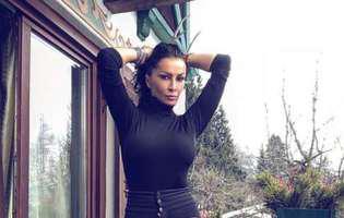 Mihaela Rădulescu, mai sexy ca niciodată! A pozat în lenjerie intimă la 49 de ani