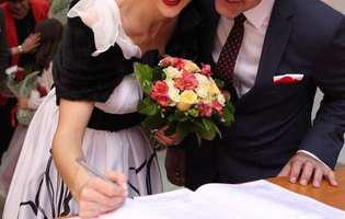 Roxana Ciuhulescu și Silviu Bulugioiu s-au căsătorit