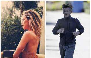 Amber Heard și Sean Penn formează cel mai nou cuplu de la Hollywood