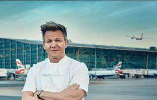 Gordon Ramsey devine vegetarian
