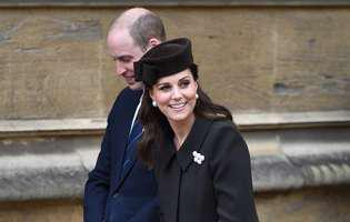 Kate Middleton e in travaliu