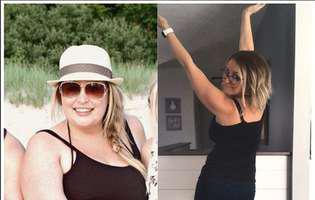 Shandra Redwine a slăbit 41 de kilograme fără operație de micșorare a stomacului. Iată ce dietă a urmat