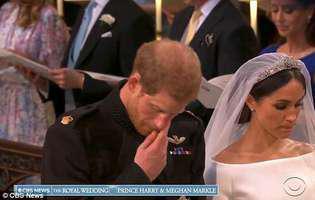 De ce prințul Harry a început să plângă în timpul ceremoniei religioase. Cel mai emoționant moment de la nunta regală