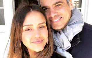 Jessica Alba si sotul ei