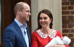 Kate MIddleton și prințul William au anunțat când va avea loc botezul prințului Louis
