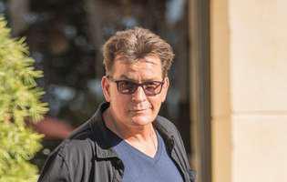 Charlie Sheen s-a trezit intr-un hotel din Italia fara portofel