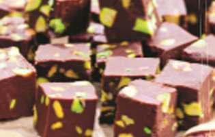 Ciocolată de casă cu fistic