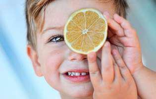De ce este bună lămâia pentru copii și de la ce vârstă poate fi consumată