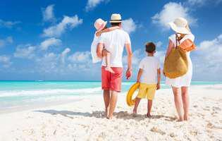 De ce este bine să mergi la mare cu copiii. Familie cu copii pe malul mării