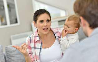 Ești în concediu maternal. Soțul are impresia că stai degeaba