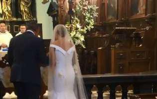 SupermodelJoanna Krupa și afaceristul Douglas Nuness-au căsătorit în Polonia. Primele imagini de la nuntă