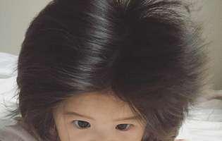 fetita e vedeta pe Instagram