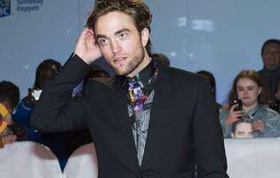 Robert Pattinson se da toata ziua cu crema