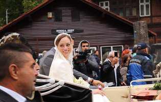 Nunta fostului Principe Nicolae. Povestea rochiei de mireasă a Alinei Binder