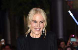 Nicole Kidman fara machiaj