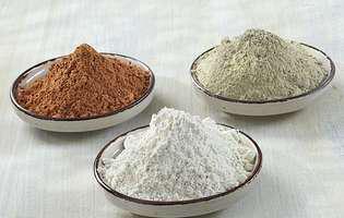 cum să folosești argila în funcție de culoarea ei