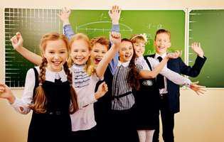 Cum să-ți ajuți copilul să fie fericit la școală. Copii fericiți într-o sală de clasă