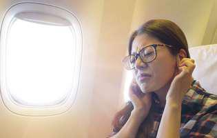 Cum să scapi de durerea de urechi din avion