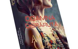"""""""Doamna dispărută"""" de Amanda Quick. Coperta"""