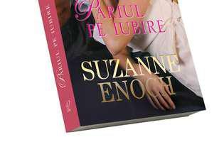 """""""Pariul pe iubire"""" de Suzanne Enoch. Copertă"""