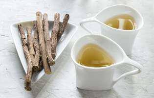 Licorice tCele mai bune tratamente pentru tuse productivă: ceai din rădăcină de lemn dulce