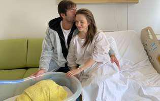 Adela Popescu a dezvăluit numele celui de-al doilea copil al ei și al lui Radu Vâlcan! Ce frumos