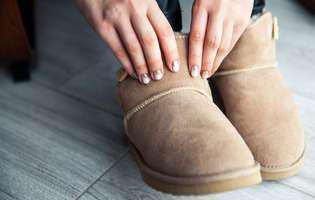 Cum se curăță corect cizmele de tip UGG fără să le strici
