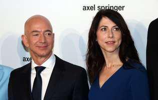 Jeff Bezos divorteaza