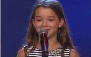 o fetita din Romania la Suedezii au talent