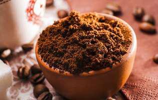 Scapă de celulită cu zaț de cafea