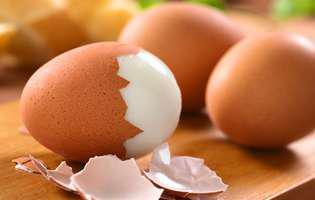 De ce e bine să păstrezi cojile de ouă