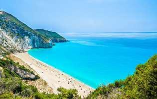Plaja Milos din Lefkada, Grecia