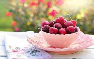 De ce e bine să mâncăm cireșe cât mai des?